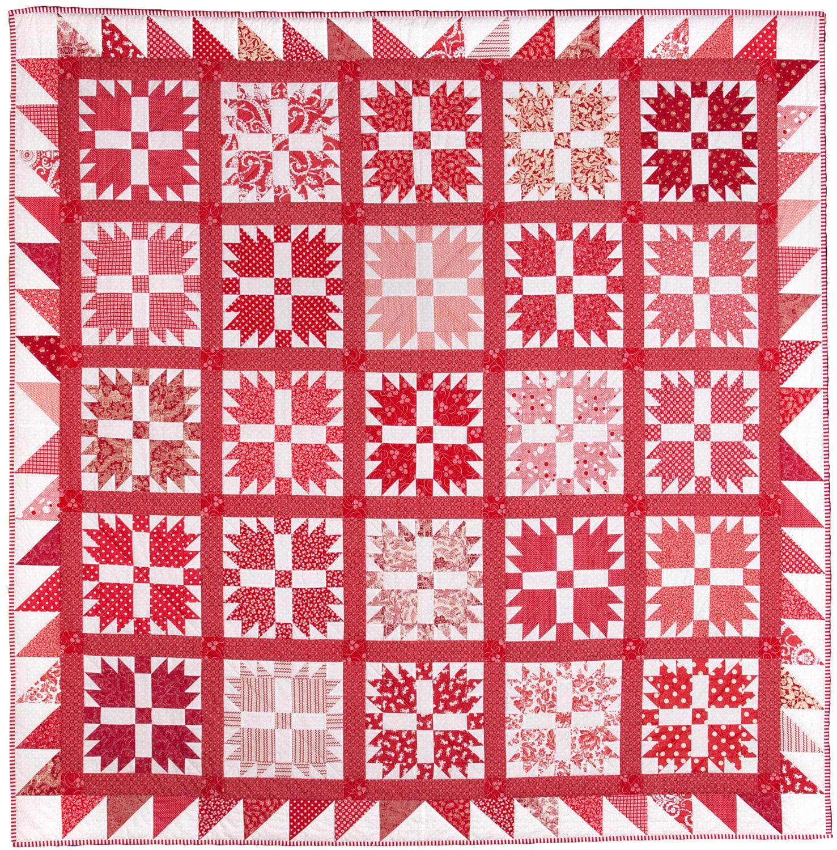 Bear\'s Paw Quilt Pattern PDF by Emma Jean Jansen