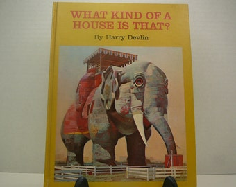 What Kind of House is That?, 1969, Harry Devlin, vintage kids book