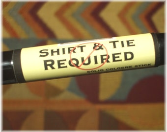 Solid COLOGNE Stick - Shirt & Tie Not Required - sexy, earthy scent - .99 shipping