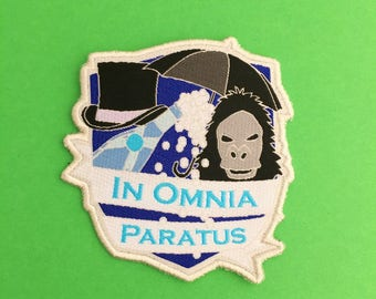 In Omnia Paratus - The Life and Death Brigade Patch - Gilmore Girls Iron On Patch