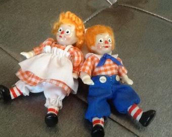Mini Raggy Ann and Andy