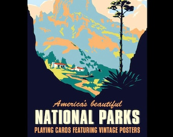 Forever Wild (National Parks) playing cards