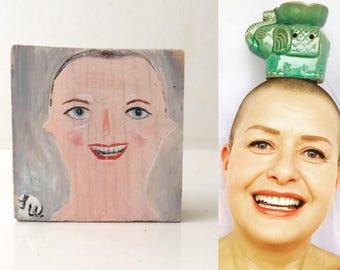 Custom mini person portrait order