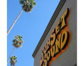 "Sunset Sound Recording Studio, Hollywood -  8.5"" x 11"" Fine Art Photograph"