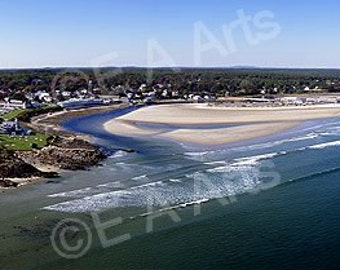 Ogunquit Maine Marginal Way Panoramic Photography  Maine Panoramic Photography Maine Photographer Paul Vose