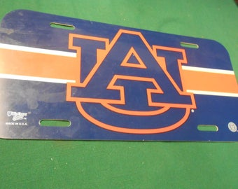 AUBURN University License Tag