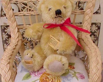 Dear Little Golden Merrythought English Mohair Teddy Bear
