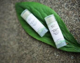 Vanilla Mint Kokum Lip Butter | Lip Balm | Vanilla Lip Balm | Peppermint Lip Balm | Lip Butter | Creme De Menthe