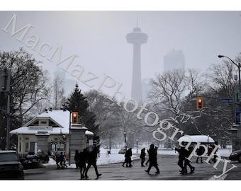 Street by Niagara Falls