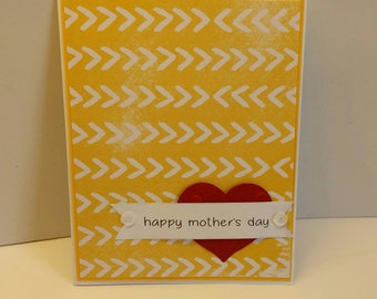 Handmade Card. Mother's Day Card. Mom. For Her. Grandmother. Mommy