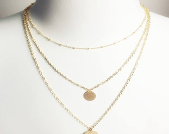 happiness delicate lucky necklaces rose necklace en gold boutique star