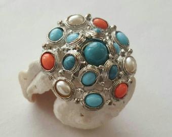 Faux Stone Pin