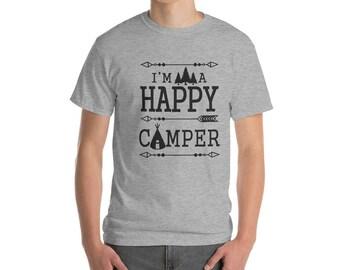 I'm a Happy Camper     Short-Sleeve T-Shirt