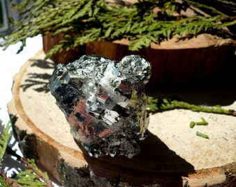 Pyrite gold Pyrite stone Pyrite crystal Pyrite rock Pyrite cube Raw Pyrite Specimen Natural pyrite Pyrite cluster Raw crystal 79 g