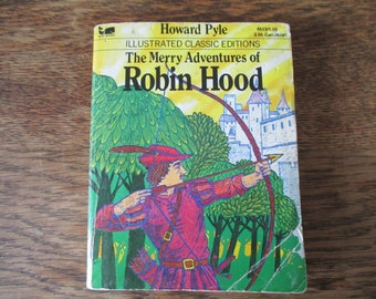 The Merry Adventures of Robin Hood Illustrated Pocket Size by Howard Pyle