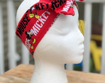 Mickey mouse headwrap