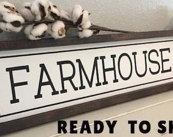 Farmhouse Sign, Farmhouse Decor, Modern Farmhouse, Hand Painted Sign, Fixer Upper Decor, Rustic Decor, Vintage Decor, Joanna Gaines Sign