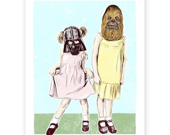 Vader and Chewy