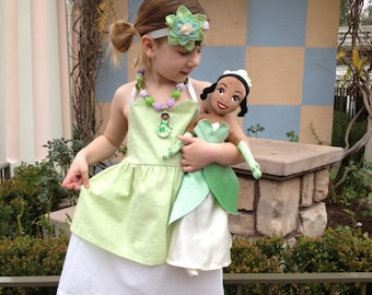 TIANA inspired dress from Princess and the Frog