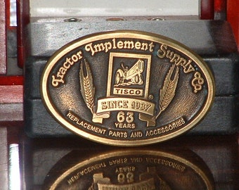 Pre-Owned Tisco Series XI  Limited Edition No 3317 Belt Buckle