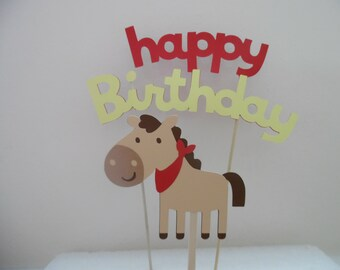 Western Birthday - Horse Birthday - Cowboy Birthday