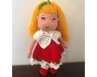 Alexandra Doll / Crochet Doll / Amigurumi Doll / Handmade Doll / Collectible