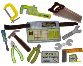 In Hoop Tool Belt Playset
