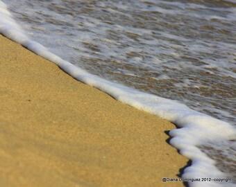 Wave Print, Beach Waves print, Blue Ocean Wall Art, Blue Ocean Photo, Beach Ocean Print, Seascape Art Decor, Beach Waves Art, Ocean Waves