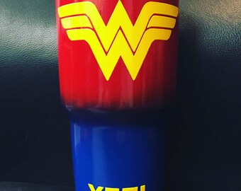 Wonder Woman Yeti stainless steel cup