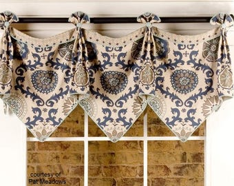 custom window valances. Custom Window Valance - Emma Made (your Fabrics, My Linings) Valances C