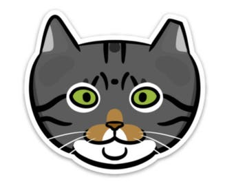 Walter Feral Cat Sticker