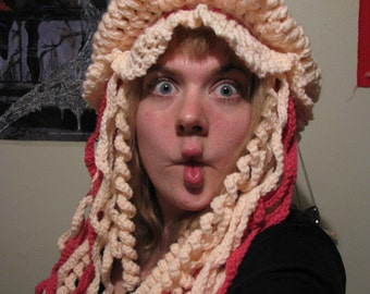 Jellyfish Hat - Crochet Pattern