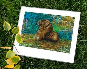 Paul's Boots 11 x 14 Fine Art Print
