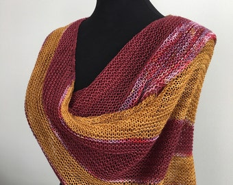 Tous Les Jours Wrap / Shawl / Scarf, Wool Wrap, Summer Wrap / Scarf / Scarf