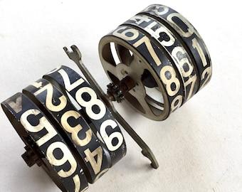 National Cash Register Number Wheel Part Salvage 1930