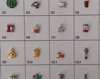 Food charm collection