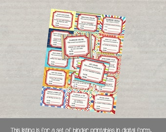 Teacher's Award Set of Printables