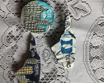 North Carolina, Duke & Charlotte Magnets