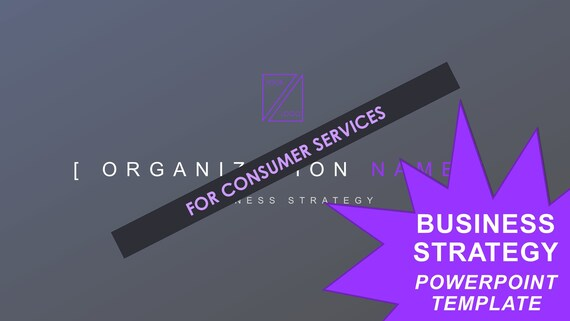 Business Strategy Template - Consumer Services