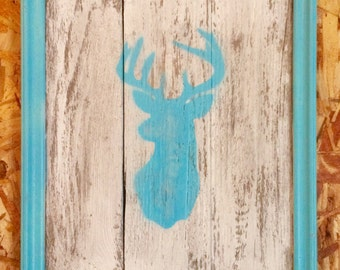 Rustic Deer-Head Decor