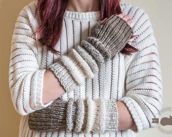Extra Long Gloves, Open Finger Gloves, Fingerless, Christmas Gift For Women , Winter Knitted Gloves, Arm Warmers, Soft Arm Warmers For Women