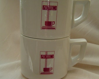Stacking  Mugs  Made in Italy