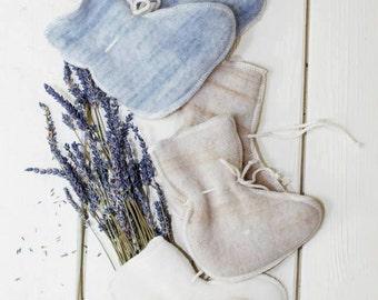 Organic Merino wool baby socks/booties