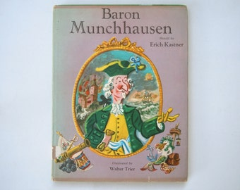 Baron Munchhausen retold by Erich Kastner illustrated by Walter Trier