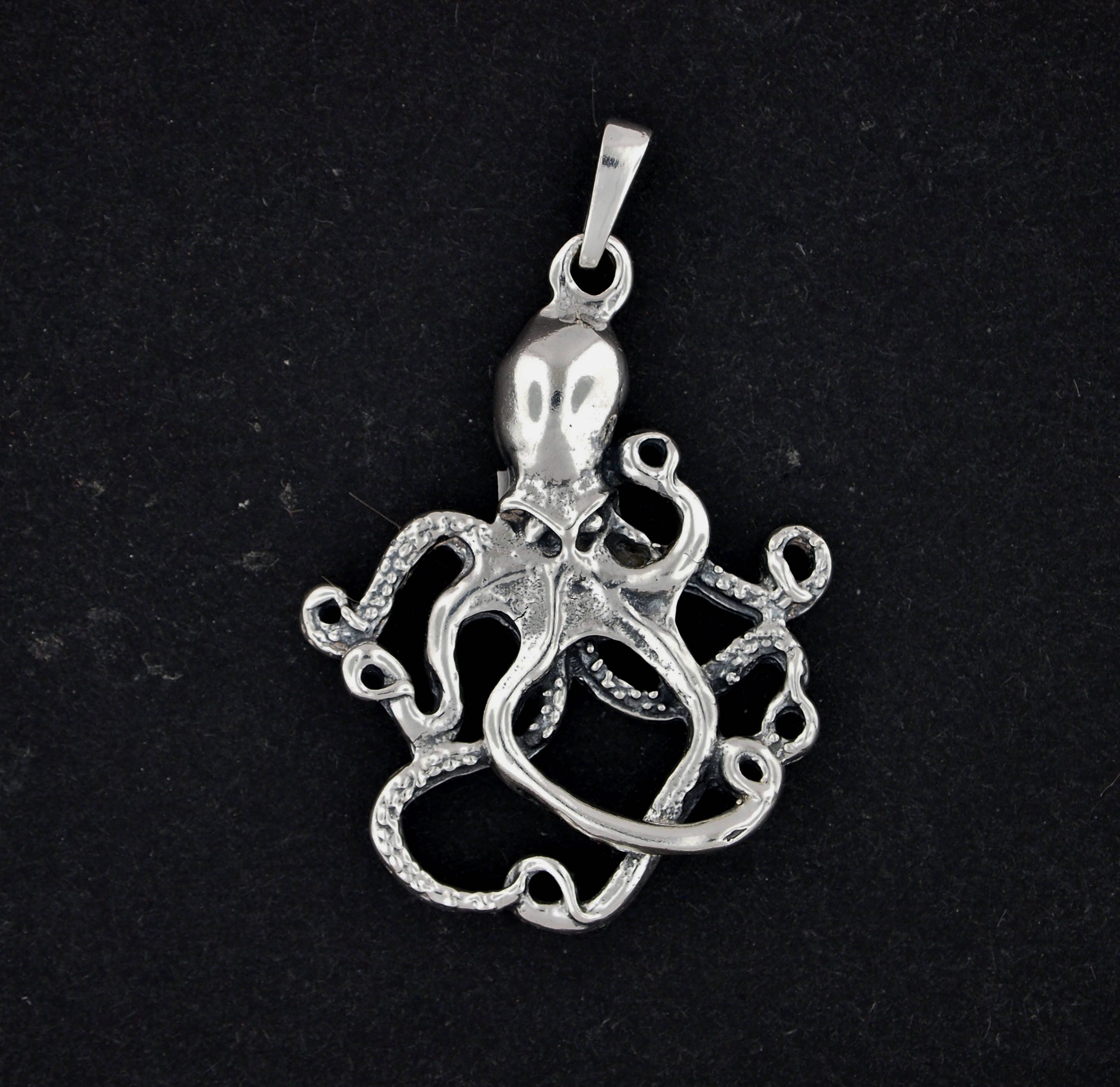 print jewelry octopus original model pendants stl models pendant