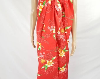 Hawaiian Wrap Dress Swimsuit Cover Sassy Sarong Womens One Size Fits Most