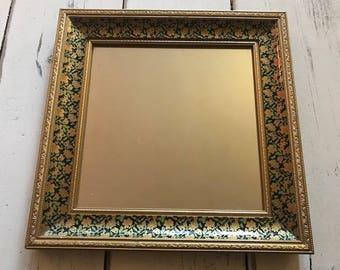 Floral Frame Mirror