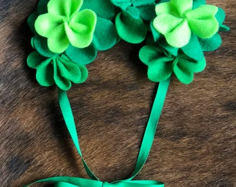 St  Patrick's Day Clover Crown