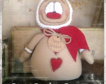 Sweet Wishes Gingerbread Doll EPattern