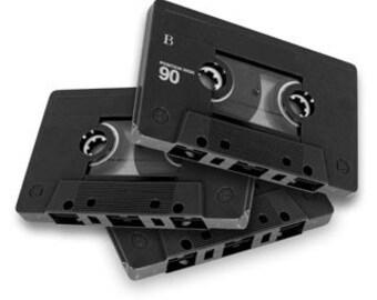 Audio Cassette transfer to CD/MP3/Wav